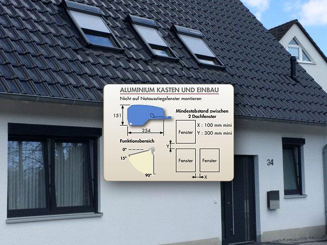 Cool Dachfensterrollladen ATIX® SOLAR für ROTO® kabellos - le-service.de IM26