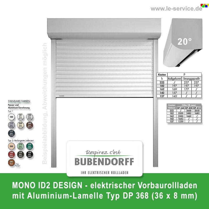 Vorbaurollladen mono id2 design dp 368 bubendorff for Design artikel