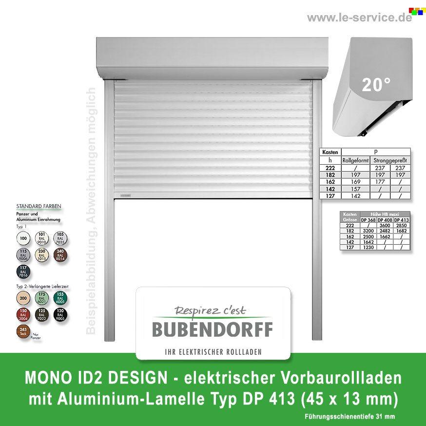 Vorbaurollladen mono id2 design dp 413 bubendorff for Design artikel