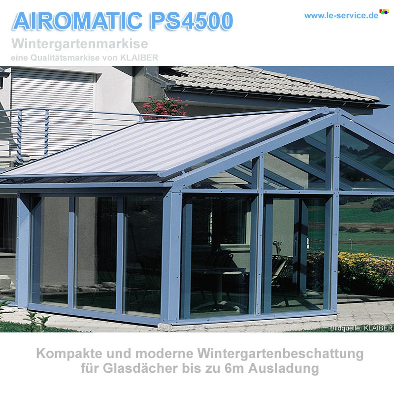 KLAIBER AIROMATIC PS4500 Wintergartenmarkise