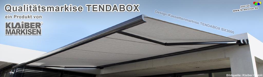 Design Kassettenmarkise Tendabox Bx3000 Rollladen Und